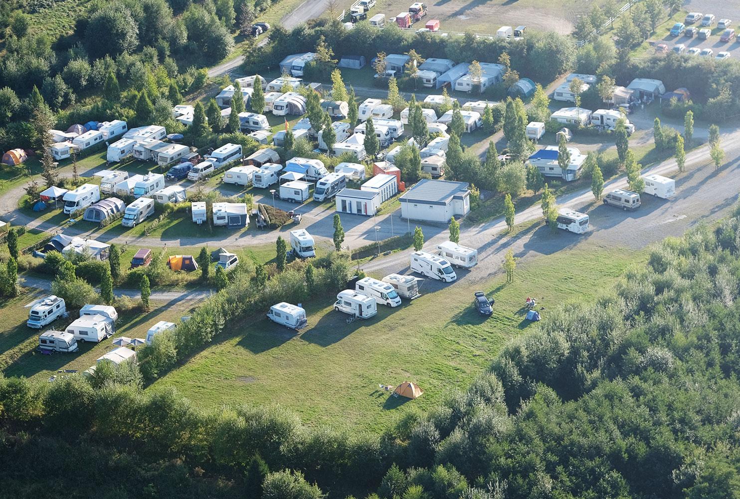 Warsteiner wereld Overnachting Camping